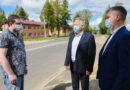 Губернатор посетил Кардымовский район