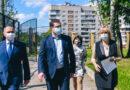 Рабочая поездка губернатора и мэра по Смоленску