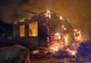 В Смоленской области сгорело два частных дома
