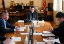 Алексей Островский и Андрей Борисов обсудили разработку единой концепции благоустройства Смоленска