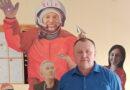 В СмолГУ открылась художественная выставка «Космонавты»