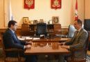 Алексей Островский встретился с Сергеем Леоновым