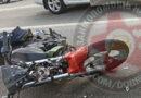 Мотоциклист врезался в «ГАЗель» в Смоленске